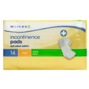 Incontinence Pads Extra Maxi 14 Pads