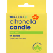Citronella Candle in Tin Box