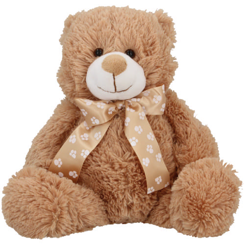 Made 4 Baby Brown Cuddle Buddy Bear With Scarf 25cm