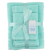6 Piece Towel Set Sea Green