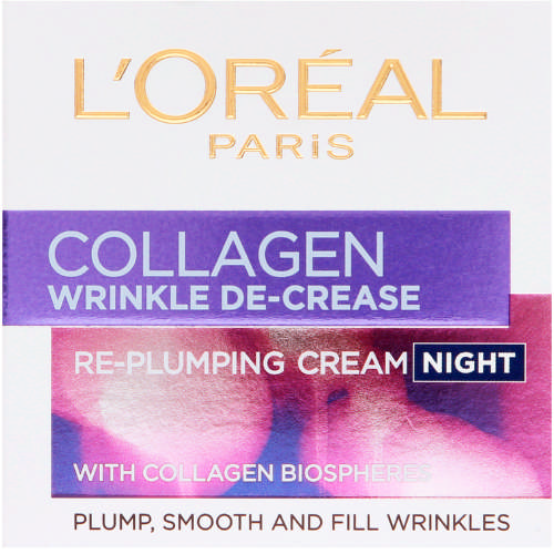 Collagen Wrinkle Decrease Re-Plumping Night Cream 50ml