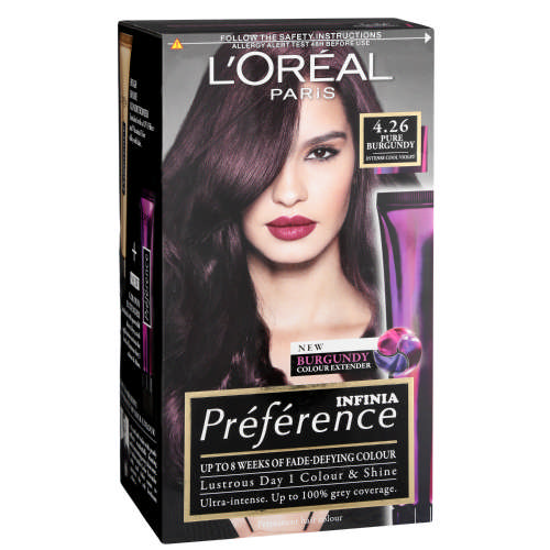Loreal Hair Color Extender Instruction Leaflet
