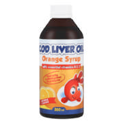Cod Liver Oil Syrup Orange 200ml