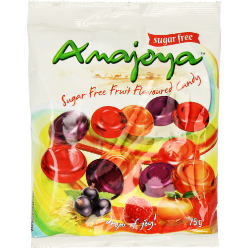 Sugar Free Fruit Flavoured Candy 75g