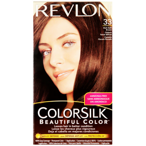 ColorSilk Beautiful Color Dark Soft Brown 33