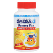 Omega-3 Gummy Fish Orange 120 Gummy Fish