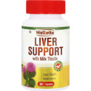 Liver Support With Milk Thistle Liver Health Capsules 30 Capsules