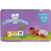 Made 4 Baby Softly Cushioned Nappies Mini 44 Pack
