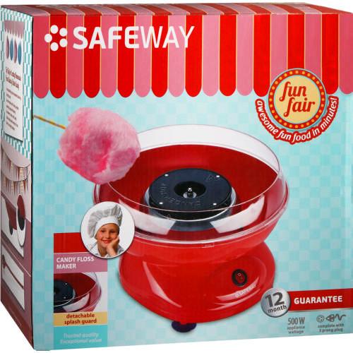Safeway Candy Floss Maker Red Cotton Clicks