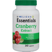 Essentials Cranberry Capsules 30 Capsules