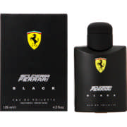 Scuderia Black Eau De Toilette Vaporisateur Natural Spray 125ml