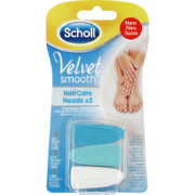 Velvet Smooth Nail Care Heads  3 pack