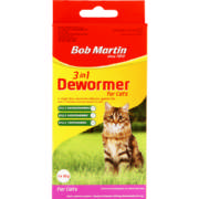 3 in 1 Dewormer For Cats 10g