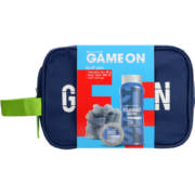 Game On Buff Pro Shampoo Bar 60g, Bath Wash 400ml & Bath Sponge
