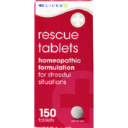 Rescue Tablets 150 Tablets