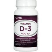 Vitamin D-3 400IU 100 Tablets