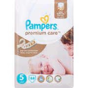 Premium Care Disposable Nappies Size 5 44 Nappies