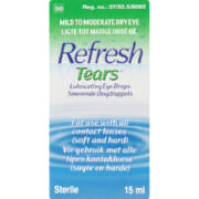 Refresh Tears Lubricating Eye Drops 15ml
