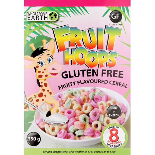 Gluten Free Fruit Loops 350g
