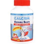 Calcium Gummy Bear 120 Gummies