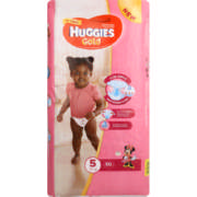 Gold Disposable Nappies For Girls Size 5 50 Nappies