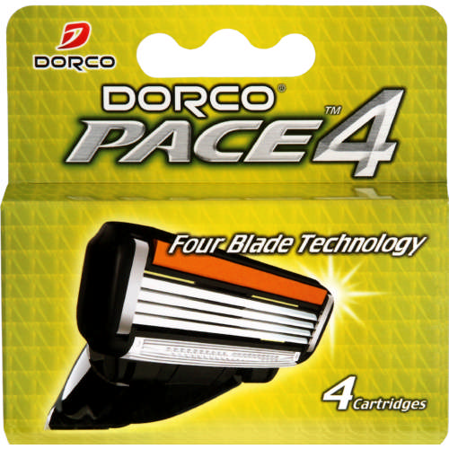 Pace Blade Cartridges Men 4 Cartridges