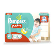 Pants Size 5 Jumbo Pack Disposable Nappies 44 Pants