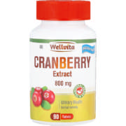 800mg Cranberry Tablets 90 Tablets