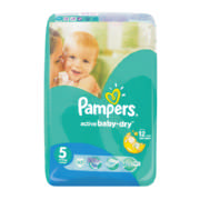 Active Baby-Dry Size 5 42 Disposable Nappies