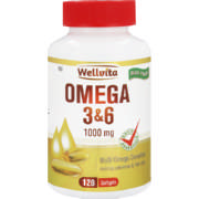 Omega 3+6 1000mg Multi Omega Complex Softgels 120 Softgels