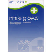 Large Nitrile Gloves 10 Pairs