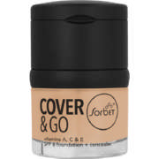 Cover & Go SPF6 Foundation & Concealer Honey 25ml + 1.2gr