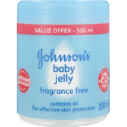 Baby Jelly Fragrance Free 500ml