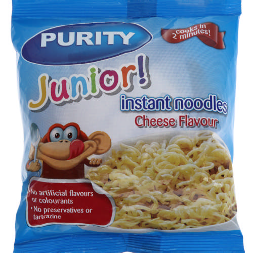 Junior Instant Noodles Cheese Flavour 53,5g
