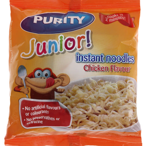 Junior Instant Noodles Chicken Flavour 53,5g