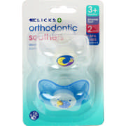 Orthodontic Soothers 2 Pack