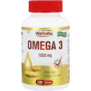 Omega 3 1000mg Fatty Acid Softgels 120 Softgels