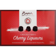 Dark Chocolate Cherry Liqueurs 130g