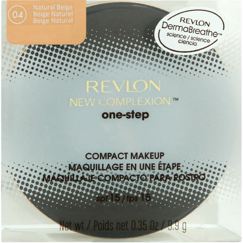 New Complexion One Step Compact Makeup Natural Beige 9.9g