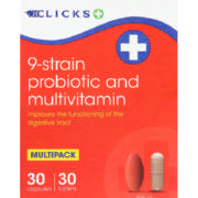 Multivit And Probiotic