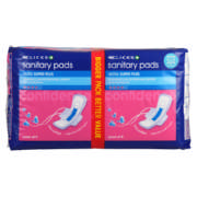 Ultra Super Plus Sanitary Pads Pack of 18