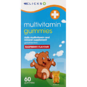 Multivitamin Gummies Raspberry 60 Gummies