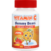 Vitamin C Gummy Bear 60 Gummies