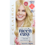 Nice'n Easy Permanent Hair Colour Natural Ultra Light Ash Blonde 1 Application
