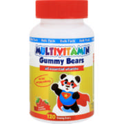 Multivitamin Gummy Bears Berry 120 Gummy Bears