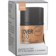 Cover & Go SPF6 Foundation & Concealer Wheat 25ml + 1.2gr
