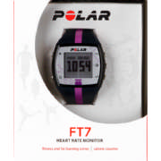FT7 Heart Rate Monitor Basic Blue