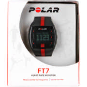 FT7 Heart Rate Monitor Red & Black