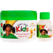 Just For Kids Relaxer and Neutralising Shampoo Coarse Hair 225ml + 30ml