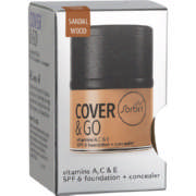 Cover & Go SPF6 Foundation & Concealer Sandal Wood 25ml + 1.2gr